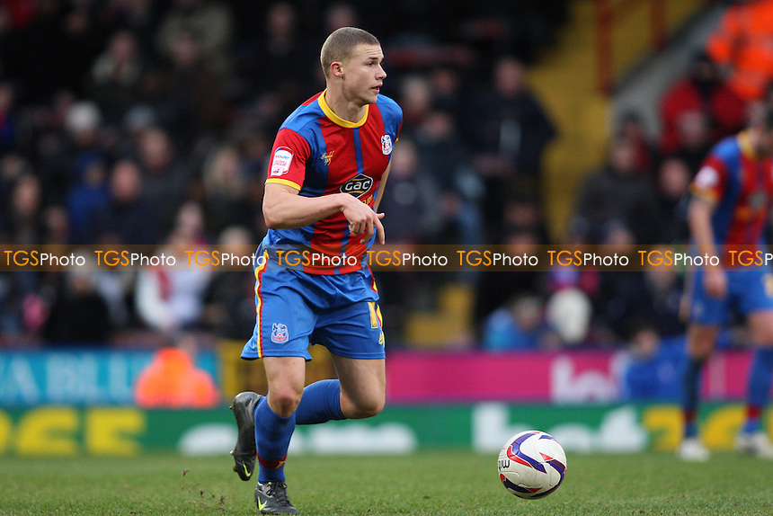 Alex Marrow of Crystal Palace  - Crystal Palace vs Charlton Athletic - NPower Championship Football at Selhurst Park - 02/02/13 - MANDATORY CREDIT: George Phillipou/TGSPHOTO - Self billing applies where appropriate - 0845 094 6026 - contact@tgsphoto.co.uk - NO UNPAID USE.