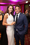 Max Evans with Lauren Jamieson<br /> Celebrity Cup Gala Dinner 2019<br /> Celtic Manor Resort<br /> 13.07.19<br /> ©Steve Pope<br /> Fotowales