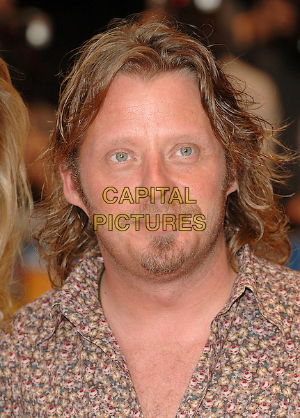 "CHARLEY BOORMAN.""Run Fat Boy Run"" premiere at the Odeon West End, London, England. .September 3rd, 2007.headshot portrait goatee moustache facial hair .CAP/BEL.©Belcher/Capital Pictures"