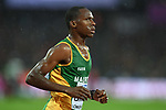 Mohamed SAMBE (MTN) in the mens 5000m heats. IAAF world athletics championships. London Olympic stadium. Queen Elizabeth Olympic park. Stratford. London. UK. 09/08/2017. ~ MANDATORY CREDIT Garry Bowden/SIPPA - NO UNAUTHORISED USE - +44 7837 394578