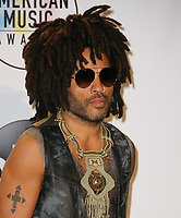 LOS ANGELES, CA - OCTOBER 09: Lenny Kravitz poses in the press room during the 2018 American Music Awards at Microsoft Theater on October 9, 2018 in Los Angeles, California. <br /> CAP/MPI/IS<br /> &copy;IS/MPI/Capital Pictures