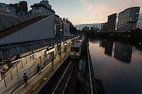 Ichigaya Station, Tokyo, Japan. Friday November 18th 2016