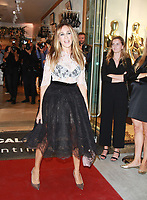 NEW YORK, NY October 18, 2017 Sarah Jessica Parker attend  Intimissimi flagship boutique opening at  New York October 18,  2017. Credit:RW/MediaPunch /NortePhoto.com