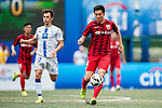 Shanghai SIPG vs HKFC Captain's Select during day two of the HKFC Citibank Soccer Sevens 2015 on May 30, 2015 at the Hong Kong Football Club in Hong Kong, China. Photo by Xaume Olleros / Power Sport Images