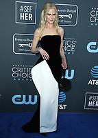 SANTA MONICA - JANUARY 13: Nicole Kidman at the 24th Annual Critics' Choice Awards at the Barker Hangar on January 13, 2019, in Santa Monica, California. (Photo by Xavier Collin/PictureGroup)