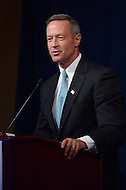October 24, 2013  (Washington, DC)  Gov. Martin O'Malley (D-MD) speaks during the 10th anniversary policy conference of the Center for American Progress held at the St. Regis hotel in Washington, D.C.  (Photo by Don Baxter/Media Images International)