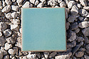 A single glazed tile with 40% recycled ceramic content. It was used in the home for Santa Clara University's entry in Solar Decathlon 2007 (scusolar.org).