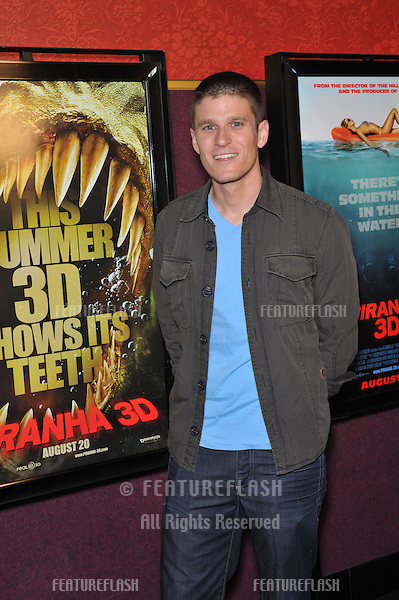 """Kevin Pereira at the Los Angeles premiere of """"Piranha 3D"""" at Mann's Chinese 6 Theatre, Hollywood..August 18, 2010  Los Angeles, CA.Picture: Paul Smith / Featureflash"""