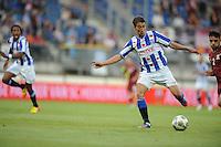 VOETBAL: HEERENVEEN: Abe Lenstra Stadion, 02-08-2012, Europa League, SC Heerenveen - Rapid Boekarest, Eindstand 4-0, Filip Djuricic (#9), ©foto Martin de Jong