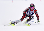 FRANCONIA, NH - MARCH 10: Patrick Brachner of New Mexico participates in the men's slalom at the Division I Men's and Women's NCAA Skiing Championships held at Jackson Ski Touring on March 10, 2017 in Jackson, New Hampshire. (Photo by Gil Talbot/NCAA Photos via Getty Images)
