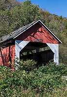 Arthur B Smith, covered bridge, Colrain, Massachusetts, USA.