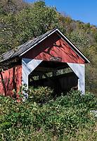 Arthur B Smith, covered bridge, Colrain, Massachusetts, USA.