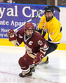 Matt Price (BC - 25), Karl Stollery (Merrimack - 7) - The Merrimack College Warriors defeated the Boston College Eagles 5-3 on Sunday, November 1, 2009, at Lawler Arena in North Andover, Massachusetts splitting the weekend series.
