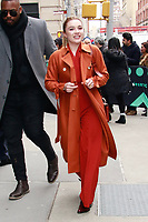 NEW YORK, NY - FEBRUARY 11: Florence Pugh  at BUILD SERIES on February 11, 2019 in New York City. Credit: Diego Corredor/MediaPunch