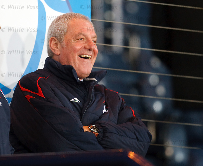 Walter Smith is all smiles