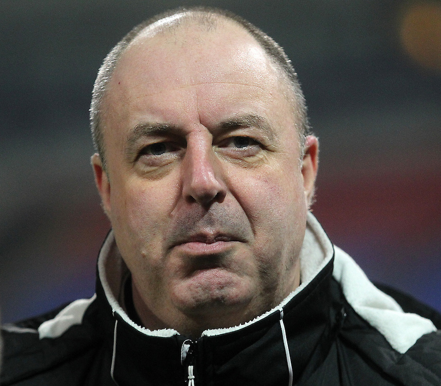 Rochdale's Manager Keith Hill<br /> <br /> Photographer Mick Walker/CameraSport<br /> <br /> The EFL Sky Bet League One - Bolton Wanderers v Rochdale - Tuesday 14th February 2017 - Macron Stadium - Bolton<br /> <br /> World Copyright &copy; 2017 CameraSport. All rights reserved. 43 Linden Ave. Countesthorpe. Leicester. England. LE8 5PG - Tel: +44 (0) 116 277 4147 - admin@camerasport.com - www.camerasport.com