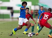 LAKEWOOD RANCH, FL - November 30, 2018: Portugal vs Brazil. The 2018 Nike International Friendlies at Premier Sports Campus.