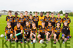 Austin Stacks U14 Coiste na nOg John Egan Tournament at the Cahermoneen pitch on Friday. Pictured Front l-r Front l-r Keith Purcell, Sean Quilter, Daniel O'Rourke, Adam Curran, Luke Chester, Craig Teehan, Greg Scanlon and Charlie Curran. Back l-r Connor Myers, Mervin Shalemba, Tom O'Farrell, James Fernane, Daniel Breen, Danny Draghici, David Oba, Darragh Barry Walsh, David Burke, Jordan Barry, Leon Shalemba