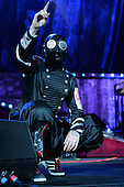 WEST PALM BEACH, FL - JULY 24: Shawn Crahan of Slipknot performs at The Coral Sky Amphitheater on July 24, 2015 in West Palm Beach Florida. Credit Larry Marano © 2015