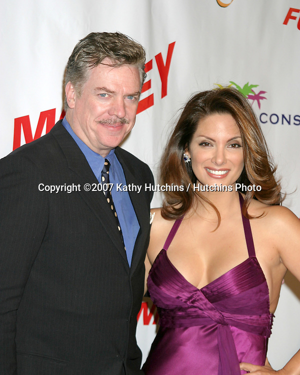 "Alex Meneses & Chris McDonald.""Funny Money"" Premiere.Los Angeles, CA.January 18, 2007.©2007 Kathy Hutchins / Hutchins Photo...."