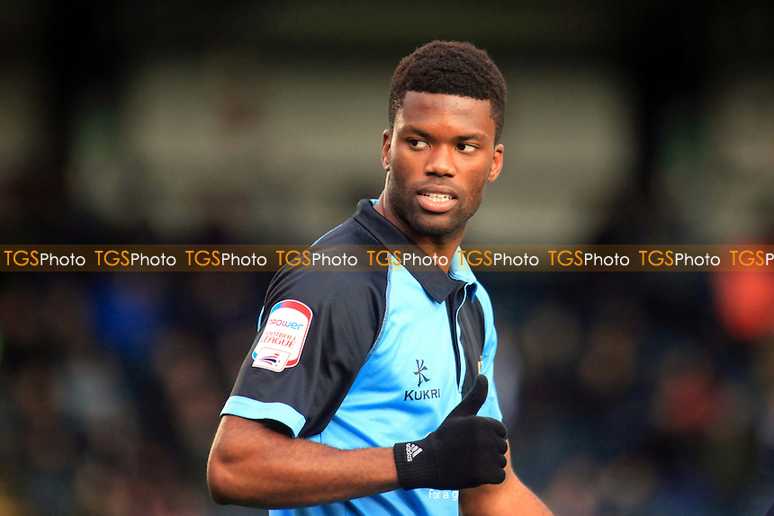 Wycombe's Joel Grant gives the Wycombe dug-out the thumbs up after scoring the first goal - Wycombe Wanderers vs Bristol Rovers - NPower League Two Football at Adam Park, High Wycombe - 01/12/12 - MANDATORY CREDIT: Paul Dennis/TGSPHOTO - Self billing applies where appropriate - 0845 094 6026 - contact@tgsphoto.co.uk - NO UNPAID USE.