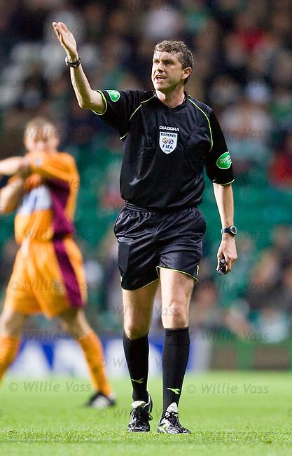 Charlie Richmond, referee.stock season 2005-2006.pic willie vass