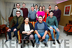 Patrick Kelly seated front centre from Cahersiveen celebrated his 30th birthday with family and friends on Saturday night pictured here in the Ring of Kerry Hotel.