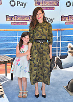 "Kathryn Hahn & Mae Sandler at the world premiere for ""Hotel Transylvania 3: Summer Vacation"" at the Regency Village Theatre, Los Angeles, USA 30 June 2018<br /> Picture: Paul Smith/Featureflash/SilverHub 0208 004 5359 sales@silverhubmedia.com"