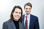 BRUSSELS - BELGIUM - 28 November 2016 Cecilia Mellberg and Daniel Wennick, (Företagen Energi - Sweden) the Nordic Energy Office. -- PHOTO: Juha ROININEN / EUP-IMAGES