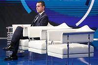 Luigi Di Maio<br /> Roma 23/01/2018. Trasmissione tv Rai 'Porta a Porta'.<br /> Rome January 23rd 2018. Talk show 'Porta a Porta' in Rome<br /> Foto Samantha Zucchi Insidefoto
