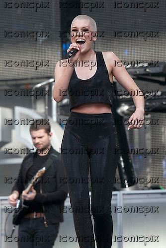 Jessie J - performing live at the Sound of Change Live concert at Twickenham Stadium Surrey UK - 01 Jun 2013.  Photo credit: John Rahim/Music Pics Ltd/IconicPix