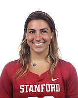 Stanford, CA - September 20, 2019: Gabby Noto, Athlete and Staff Headshots