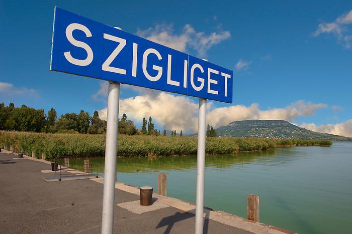 Lake Balton - Szigiglet, Balaton, Hungary