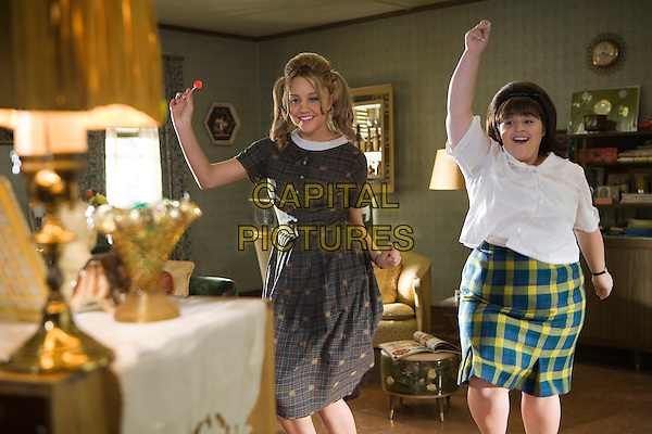 AMANDA BYNES & NIKKI BLONSKY.in Hairspray  .**Editorial Use Only**.CAP/AWFF.Supplied by Capital Pictures