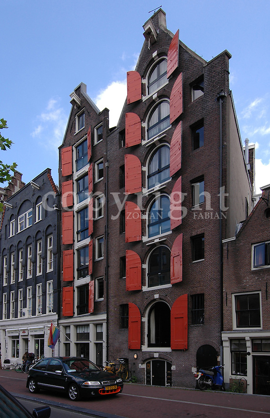 Classic houses  in Amsterdam, The Netherlands, Europe