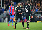 9th December 2017, Selhurst Park, London, England; EPL Premier League football, Crystal Palace versus Bournemouth; Jermain Defoe of Bournemouth discusses tactics with Lewis Cook of Bournemouth before a Bournemouth free kick