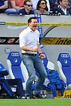 Christian Titz (Trainer, Hamburger SV) an der Seitenlinie beim Spiel in der Fussball Bundesliga, TSG 1899 Hoffenheim - Hamburger SV.<br /> <br /> Foto &copy; PIX-Sportfotos *** Foto ist honorarpflichtig! *** Auf Anfrage in hoeherer Qualitaet/Aufloesung. Belegexemplar erbeten. Veroeffentlichung ausschliesslich fuer journalistisch-publizistische Zwecke. For editorial use only.