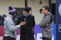 Abdullah Al Naboodah and Alan Hansen and Jorge Lozada during the Hero Pro-am at the Betfred British Masters, Hillside Golf Club, Lancashire, England. 08/05/2019.<br /> Picture Fran Caffrey / Golffile.ie<br /> <br /> All photo usage must carry mandatory copyright credit (© Golffile | Fran Caffrey)