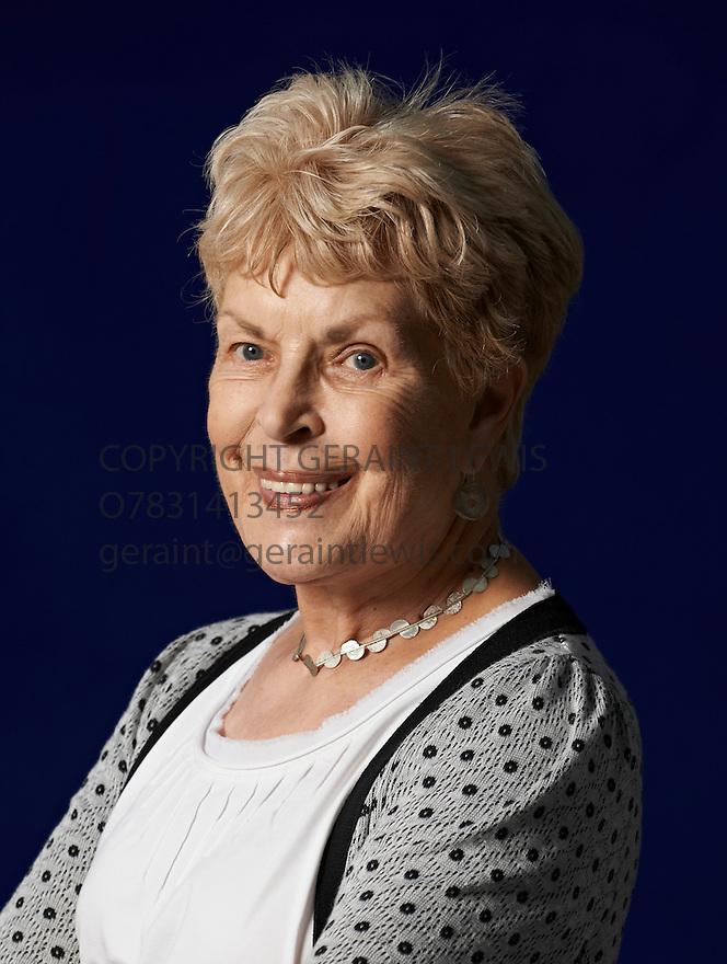 Ruth Rendell crime  writer  at The Edinburgh International Book Festival   . Credit Geraint Lewis
