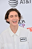 Timothee Chalamet at the 2018 Film Independent Spirit Awards on the beach in Santa Monica, USA 03 March 2018<br /> Picture: Paul Smith/Featureflash/SilverHub 0208 004 5359 sales@silverhubmedia.com