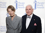 Glenda Jackson and Lionel Larner attends the 74th Annual Theatre World Awards at Circle in the Square on June 4, 2018 in New York City.