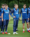 17.07.2019: Rangers training: Josh McPake, Greg Docherty, Scott Arfield and Ryan Jack