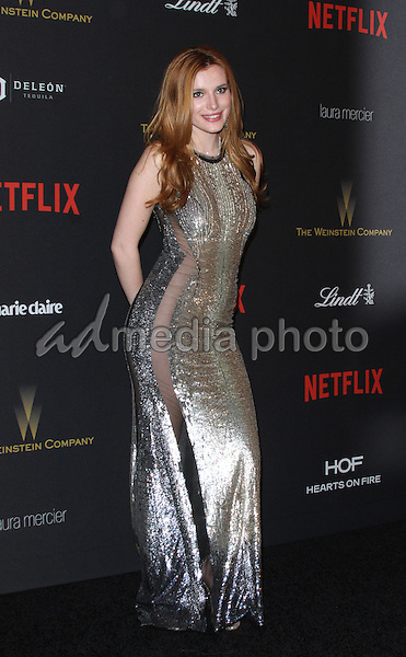 10 January 2016 - Los Angeles, California - Bella Thorne. 2016 Weinstein Company & Netflix Golden Gloves After Party held at the Beverly Hilton Hotel. Photo Credit: AdMedia