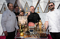 Wolfgang Puck on the red carpet of The 90th Oscars&reg; at the Dolby&reg; Theatre in Hollywood, CA on Sunday, March 4, 2018.<br /> *Editorial Use Only*<br /> CAP/PLF/AMPAS<br /> Supplied by Capital Pictures