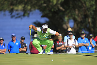 Kiradech Aphibarnrat (THA) in action on the 1st during the Matchplay Final of the ISPS Handa World Super 6 Perth at Lake Karrinyup Country Club on the Sunday 11th February 2018.<br /> Picture:  Thos Caffrey / www.golffile.ie<br /> <br /> All photo usage must carry mandatory copyright credit (&copy; Golffile | Thos Caffrey)