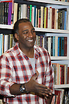 """Rehearsals for Ragtime starring All My Children Norm Lewis """"Keith McLean"""" & now Scandal on February 11, 2013 for a concert at Avery Fisher Hall, New York City, New York on Monday February 18, 2013. (Photo by Sue Coflin/Max Photos)"""