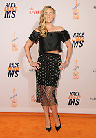 15 April 2016 - Beverly Hills, California - AJ Michalka. Arrivals for the 23rd Annual Race To Erase MS Gala held at Beverly Hilton Hotel. Photo Credit: Birdie Thompson/AdMedia