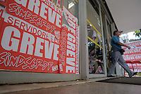 BRASÍLIA, DF, 11 DE JULHO DE 2012 - Fachada do Ministerio do Planejamento. Servidores Federais permanecem em greve ate que a Presidente Dilma atenda suas reinvidicacoes. Foto: Pedro Franca - Brazil Photo Press