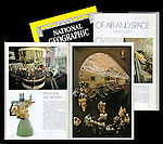 "The July 1978 edition of National Geographic featured at story on The National Air and Space Museum written by astronaut Michael Collins. The lead photo and another resulted from my own time after hours of performing the regular internship duties under the guidance of Robert Gilka, the Director of Photography. Mr. Gilka had simply said, ""Show me what's in the Air and Space Museum,"" as his way of giving me the assignment."