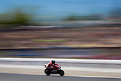June 10th 2017,  Barcelona Circuit, Montmelo, Catalunya, Spain; MotoGP Grand Prix of Catalunya, qualifying day; Camera blur as Jorge Lorenzo of Ducati Team during the qualifying session